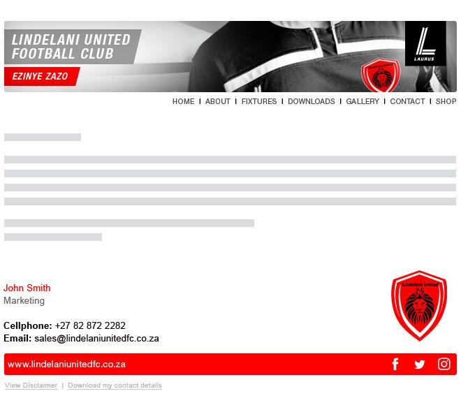 Lindelani United FC