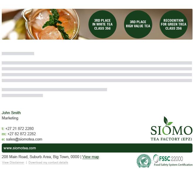 Siomo Tea Factory